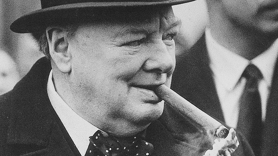 Известные курильщики: Уинстон Черчилль