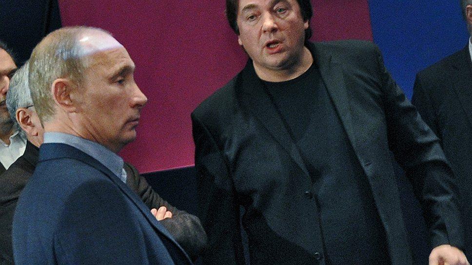 Владимир Путин и Константин Эрнст