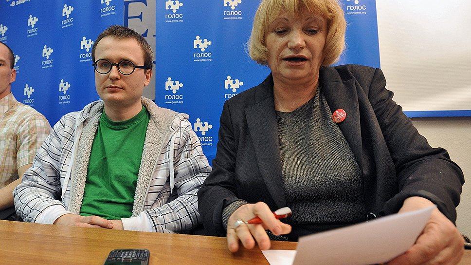 Исполнительный директор ассоциации «Голос» Лилия Шибанова (справа)