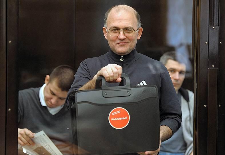 Сергей Кривов (родился в 1961 году), кандидат физико-математических наук. Задержан 18 октября 2012 года. Согласно обвинению, отобрал дубинку у омоновца и ударил его. Около месяца голодал, требуя признать арест незаконным. 24 февраля 2014 года приговорен к лишению свободы в колонии общего режима на 4 года. Был освобожден 15 июля 2016 года