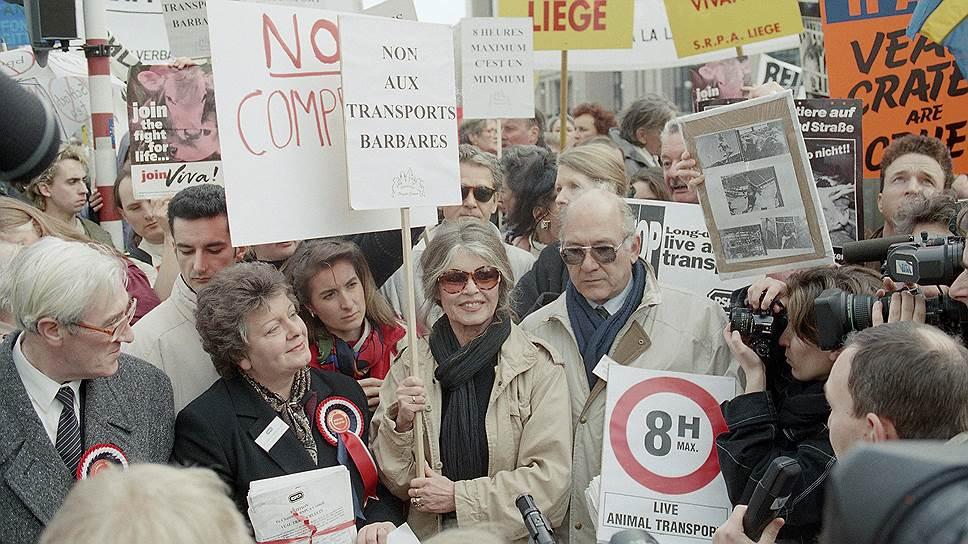 С 1990-х годов Брижит Бардо неоднократно выступала с критикой иммигрантов и ислама во Франции, гомосексуализма и межрасовых браков, в результате чего пять раз была осуждена «за разжигание межнациональной розни». Например, в 1997 году актрису оштрафовали за комментарии, выпущенные в газете «Le Figaro», а в 1998 осудили за заявление о растущем количестве мечетей во Франции. В 2008 году прокурор заявил, что устал предъявлять обвинения Бриджит Бардо из-за расовой неприязни