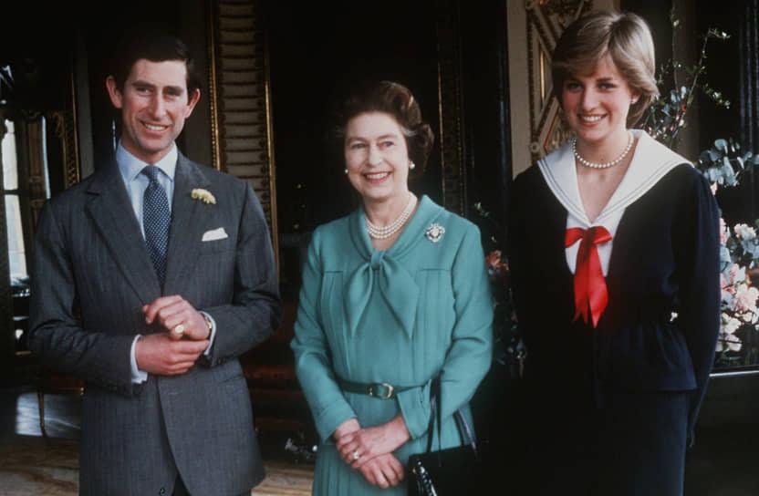 В 1981 году королева Елизавета дала официальное согласие на женитьбу принца Чарльза и принцессы Дианы. Супруги прожили в браке 15 лет, а через год после развода, в 1997-м, леди Диана погибла в автокатастрофе