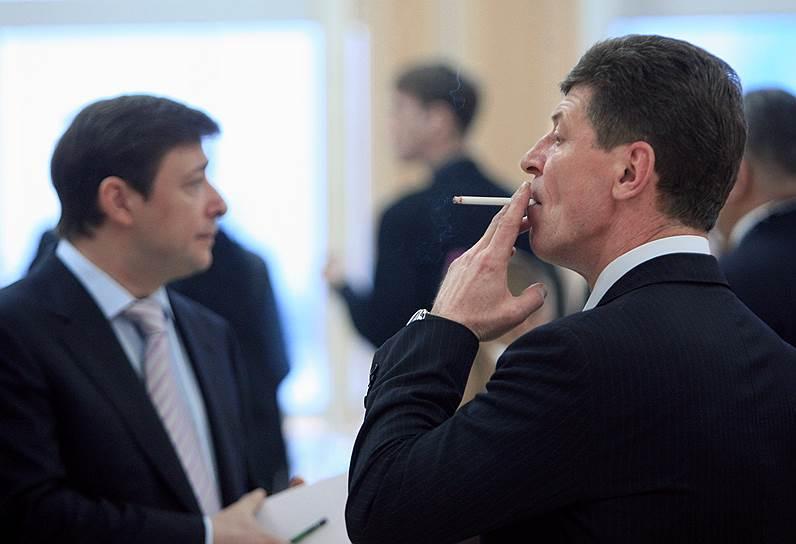 Заместитель руководителя администрации президента РФ Дмитрий Козак