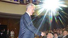 Мэр Москвы Сергей Собянин на концерте, посвященном празднованию 66-й годовщины Победы в Великой Отечественной войне. 2011 год