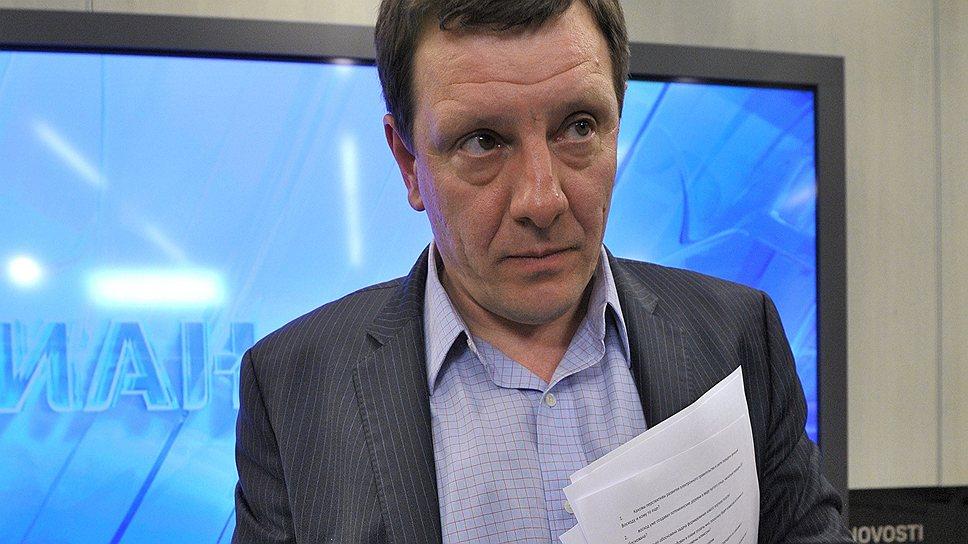 Президент Фонда информационной демократии Илья Массух