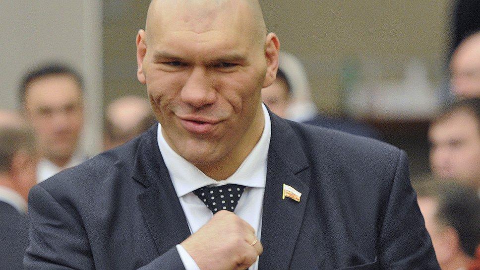 Депутат от ЕР, боксер Николай Валуев