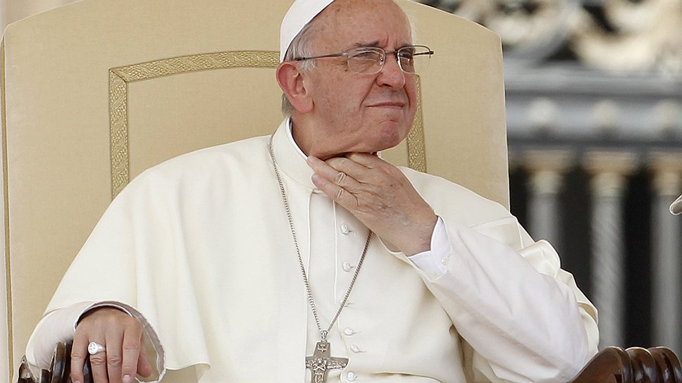 Папа вернет Банку Ватикана гармонию