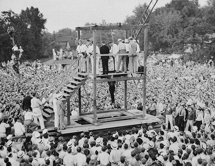 Фото 1936 года. В Сингапуре и Малайзии до сих пор предпоалагется смертная казнь за хранение наркотиков, их оборот и торговлю. В 2017 году в Сингапуре по статьям за эти преступления были казнены три человека