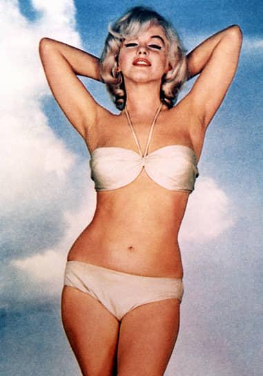 Считается, что большую роль в популяризации бикини сыграла Мэрилин Монро