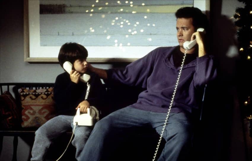 «Впервые встретившись с Мег Райан, я не узнал ее и думал, что болтаю с какой-то дурочкой за кофейным столиком»<br> По мнению критиков, самые удачные роли Тома Хэнкса относятся к 1990-м годам, включая фильм «Неспящие в Сиэтле» (кадр на фото), где партнершей Хэнкса стала Мег Райан. На счету актеров еще два совместных проекта: «Джо против Вулкана» (1990) и «Вам письмо» (1998)