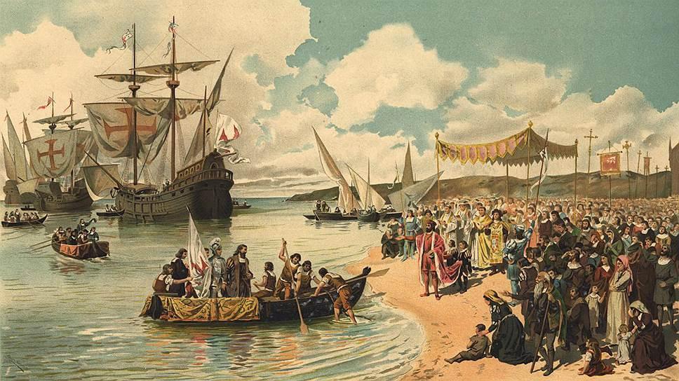 1492 год. Первая морская экспедиция из Европы в Индию отплыла из Лиссабона во главе с Васко да Гамой