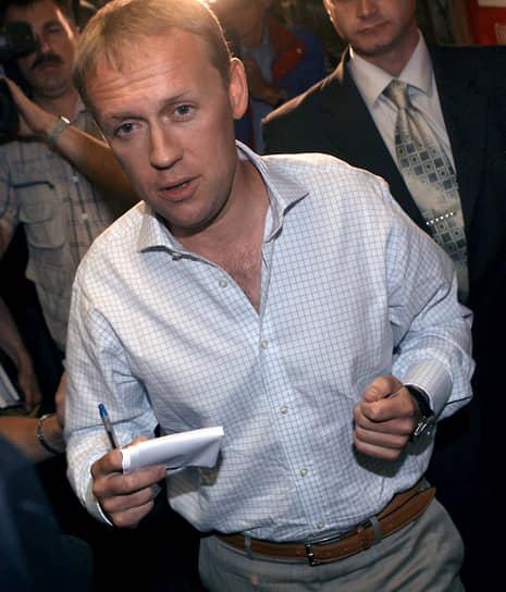 По данным следствия, экс-сотрудник ФСО Андрей Луговой (на фото) трижды виделся с Александром Литвиненко до того, как тот попал в больницу