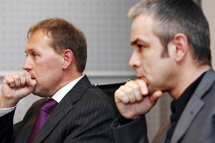 Одна из встреч Литвиненко и Лугового прошла в присутствии его делового партнера Дмитрия Ковтуна (на фото справа). В 2007 году в рамках расследования британские детективы прибыли в Москву для допроса Андрея Лугового. 25 мая 2007 года Великобритания отправила в Москву запрос об экстрадиции Лугового, однако тот обвинения не признал и назвал их политически мотивированными