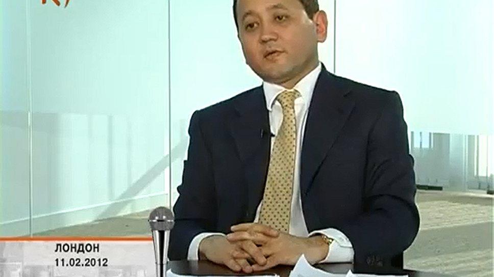 Казахский олигарх Мухтар Аблязов