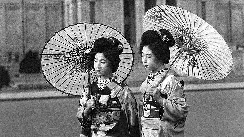 1858 год. Под давлением США Япония открыла для иностранцев Токио и Осаку