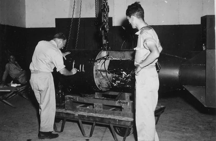 Вес бомбы Little Boy, что в переводе с английского означает «Малыш», составил 4,4 тыс. кг