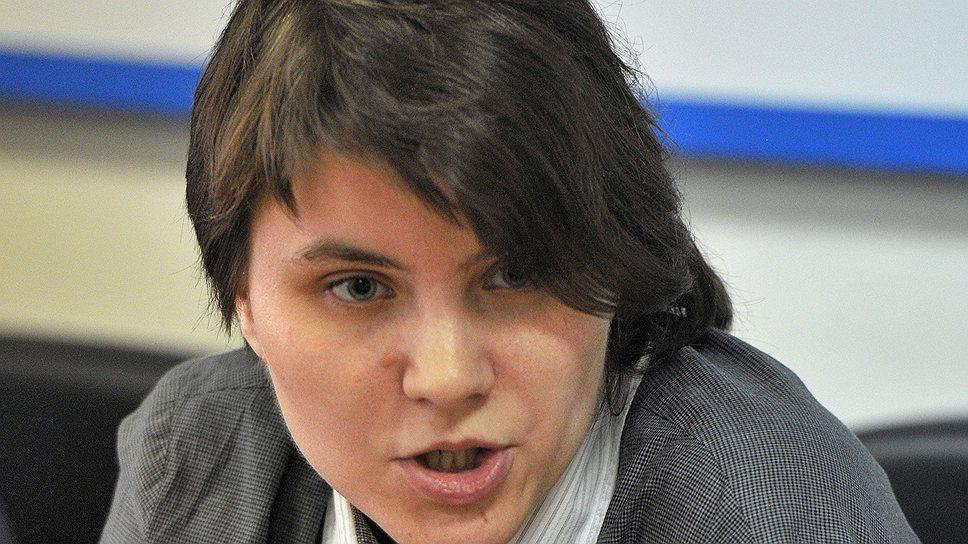 Участница Pussy Riot Екатерина Самуцевич