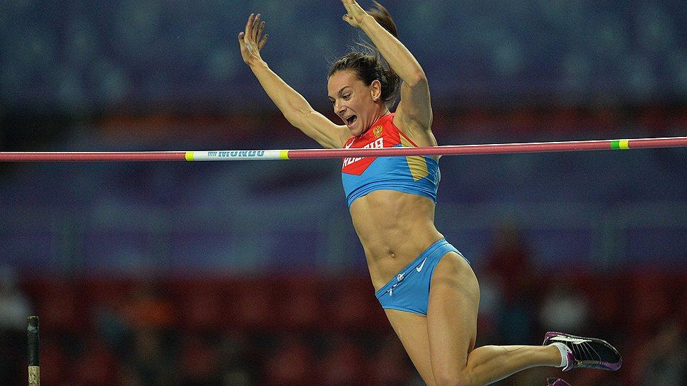 Елена Исинбаева: «Мой главный соперник —  я сама»
