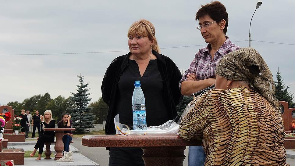 Рита Течиева. Потеряла сына Хасана Рубаева. Ему было 13 лет