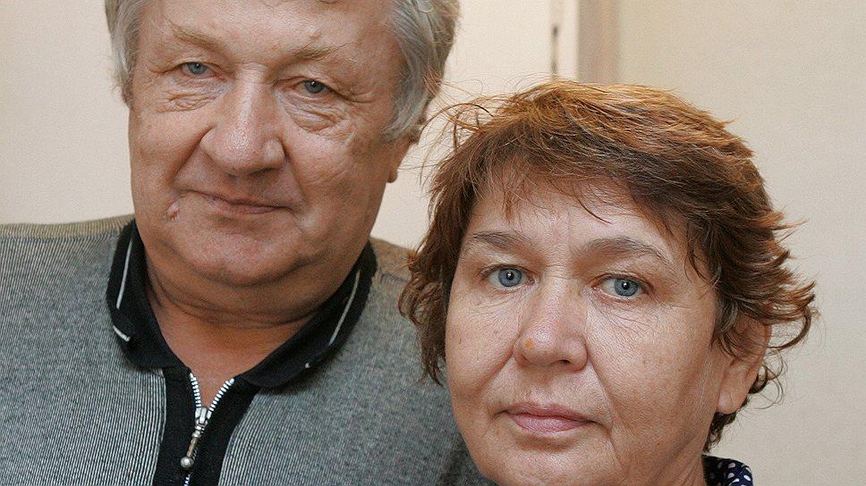 Супруги Станислав и Любовь Хлебович, потерявшие частный дом в пригороде Хабаровска