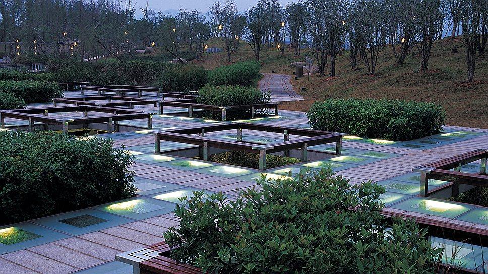 «Парк XXI века производит, а не потребляет энергию и материалы», – президент Turenscape Кунцзян Юй