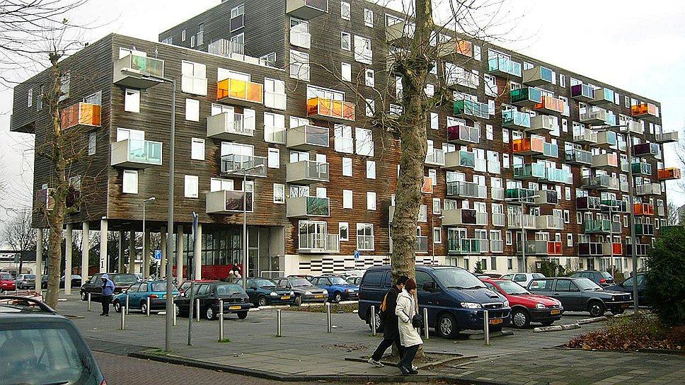 Жилой дома для пожилых Wozoco в Амстердаме