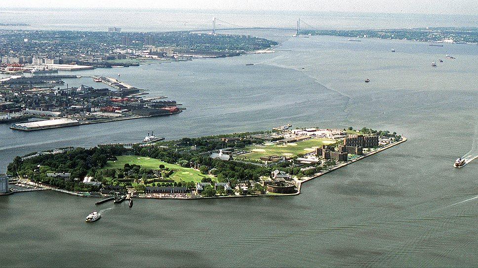 Парк Governors Island в Нью-Йорке