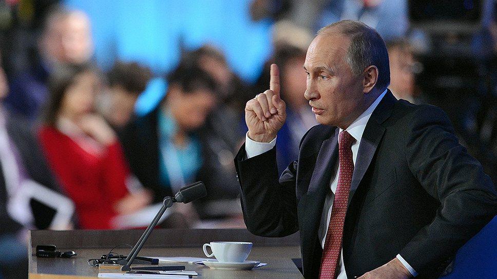 Как Владимир Путин готовится разъяснять