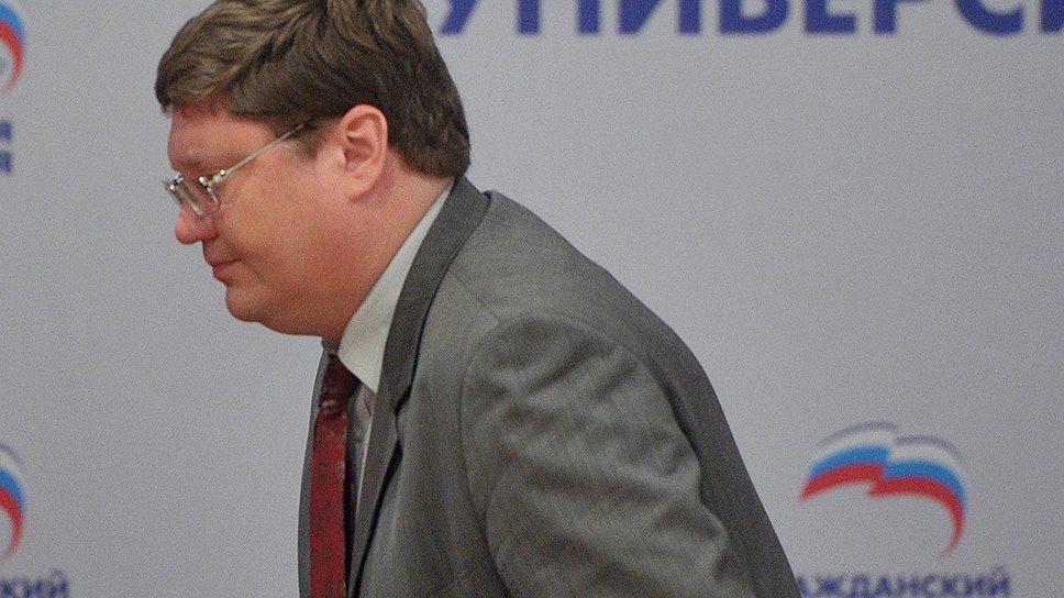 Как Андрей Исаев подал в отставку с поста замсекретаря генсовета «Единой России»