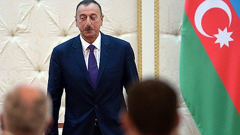 Азербайджан выбирает президента // Фаворит — действующий глава государства Ильхам Алиев