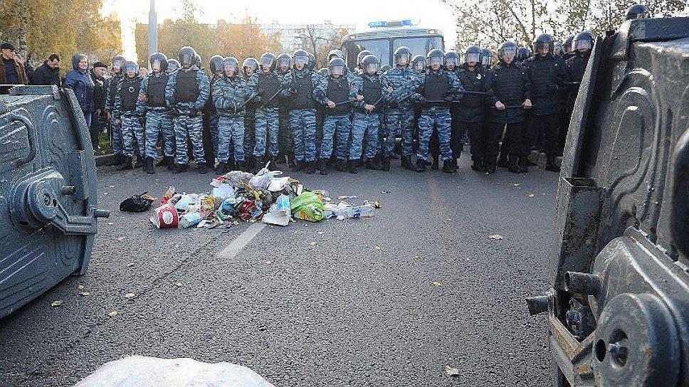 В Южный округ Москвы направлены дополнительные отряды полиции