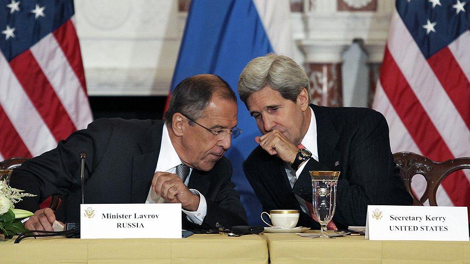 14 сентября 2013 года США, Россия и Сирия договорились перевести химическое оружие Сирии под международный контроль