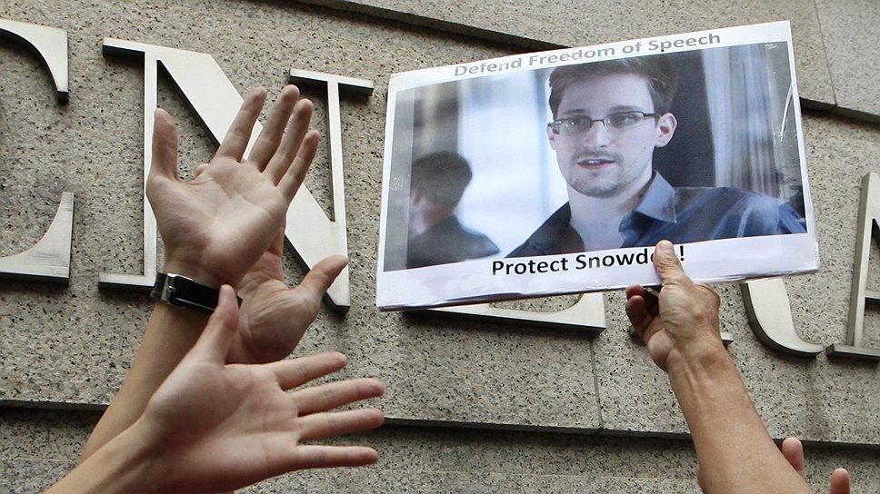 У кого оказались секретные материалы Эдварда Сноудена