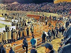 Беспорядки на матче «Шинник»—«Спартак»