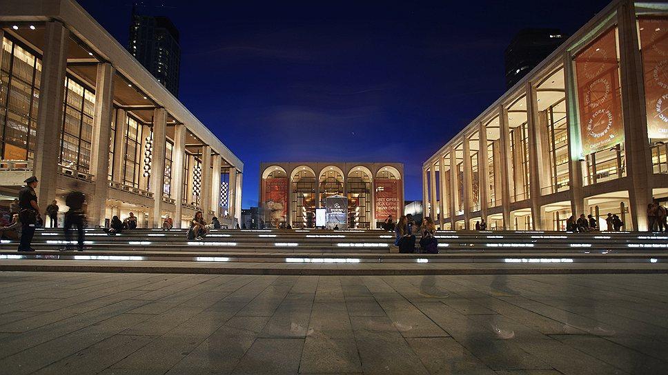 Линкольн-центр в Нью-Йорке (автор проекта – Diller Scofidio + Renfro)