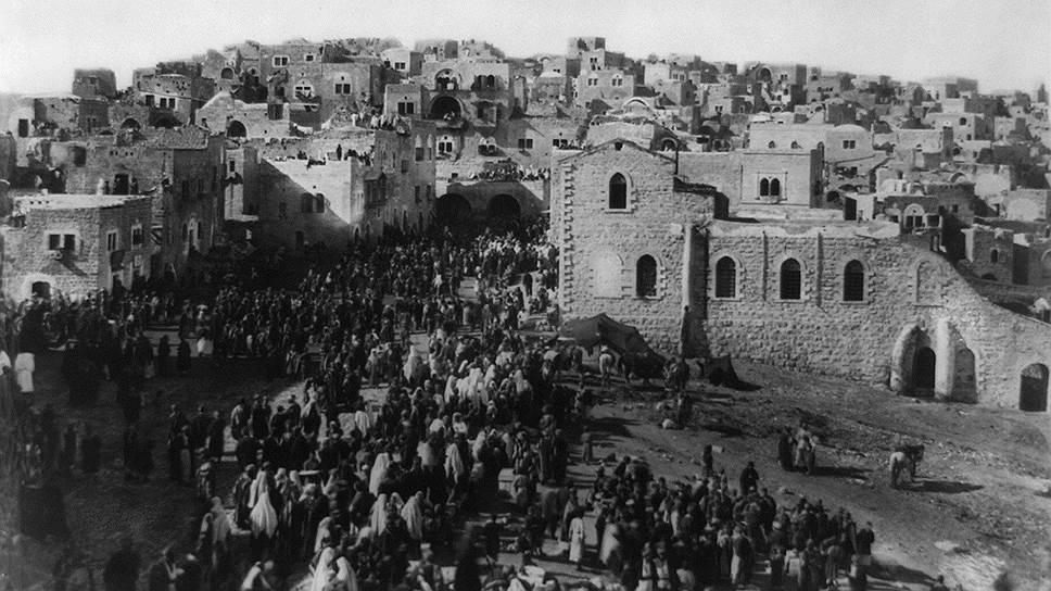 Как развивалась палестинская проблема