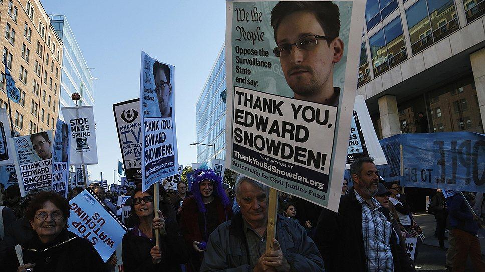 В 2013 году между Россией и США снова возникло напряжение. Повод дал бывший сотрудник ЦРУ Эдвард Сноуден, обнародовавший информацию о слежке американских спецслужб за гражданами разных стран мира. Скрывавшийся в Гонконге, экс-сотрудник ЦРУ внезапно прилетел в Шереметьево. В июне того же года Сноуден получил убежище в России