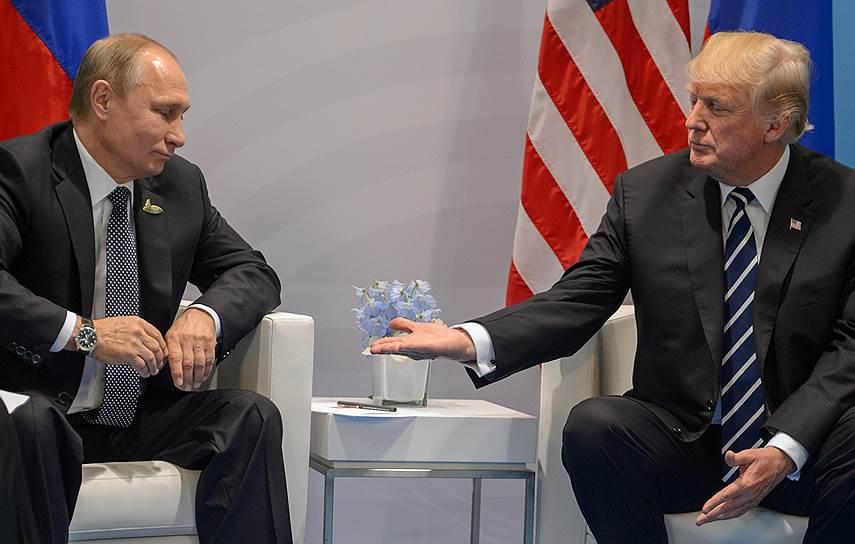 В ноябре 2016 года президентом США был избран Дональд Трамп. После этого лейтмотивом российско-американских отношений стало возможное вмешательство РФ в выборы американского лидера. Дональд Трамп отрицает, что Россия помогала ему, страны успели сократить штаты диппредставительств и отобрать дипломатическую собственность друг друга. В октябре 2018 года США сообщили о намерении выйти из договора РСМД