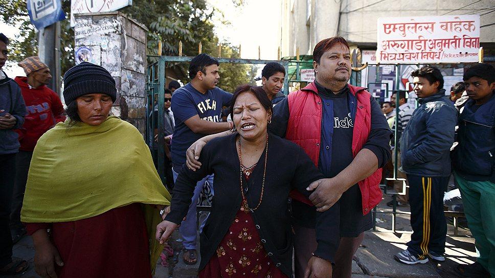 Как Непал отметил выборы взрывом