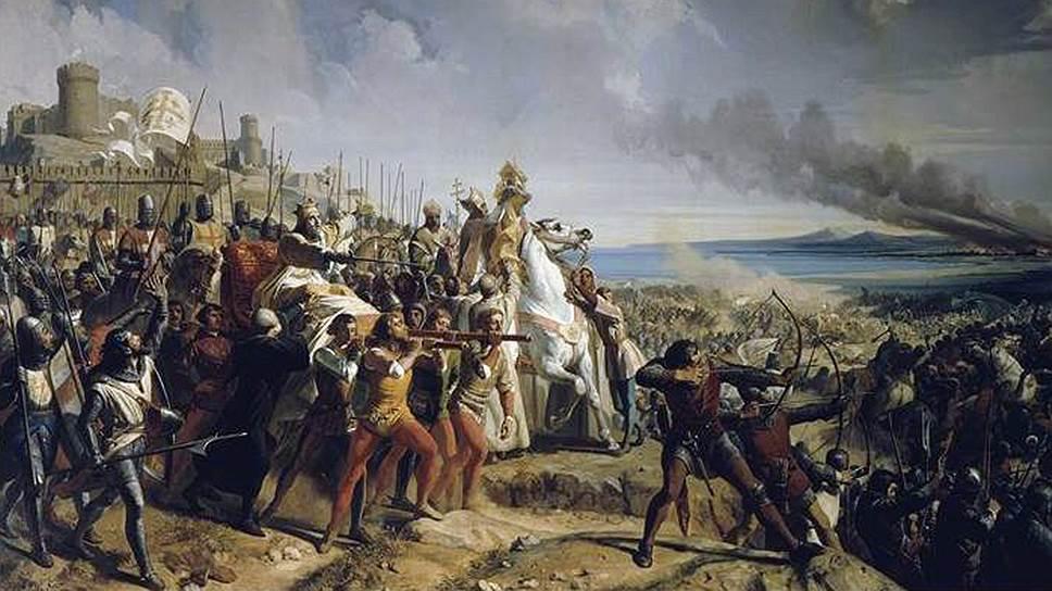 1177 год. В сеньории Рамла состоялась битва при Монжизаре между мусульманским лидером Салах ад-Дином и силами Иерусалимского королевства, окончившаяся поражением мусульманского лидера