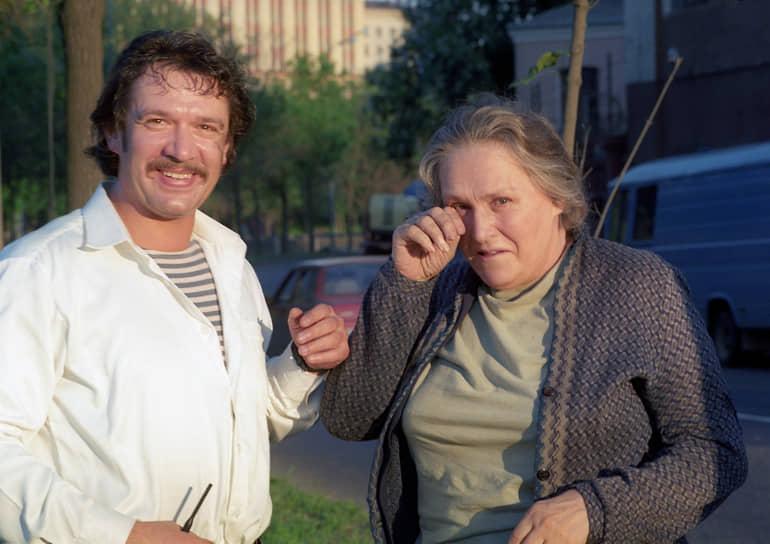 Свою последнюю роль актриса сыграла в фильме Дениса Евстигнеева «Мама» в 1999 году. Последним появлением Нонны Мордюковой на публике стало ее трехчасовое выступление на сцене Московского дома кино в 2005 году