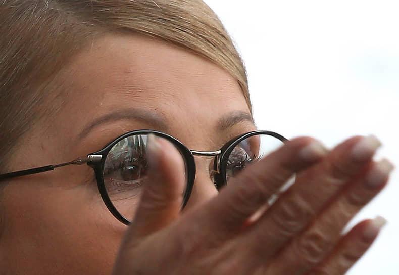 В третий раз Юлия Тимошенко баллотировалась на президентских выборах в марте 2019 года. Она заняла третье место, набрав 13,4% голосов
