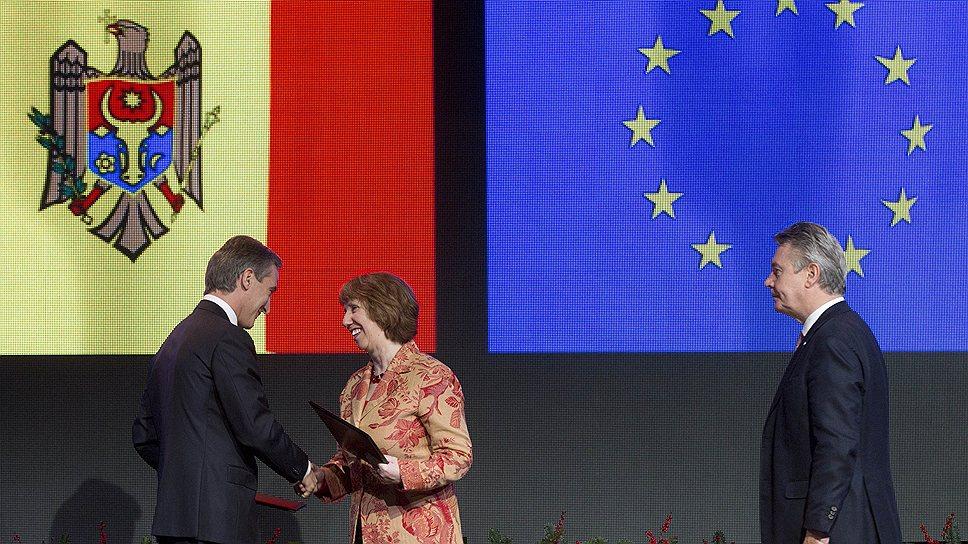 С кем Брюссель подписывает соглашения