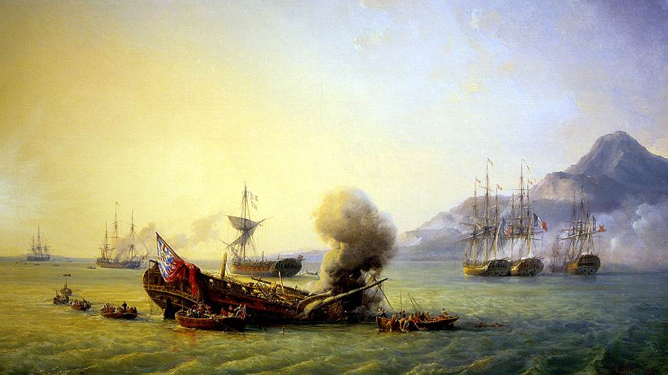 1810 год. Англия отбила у французов остров Маврикий
