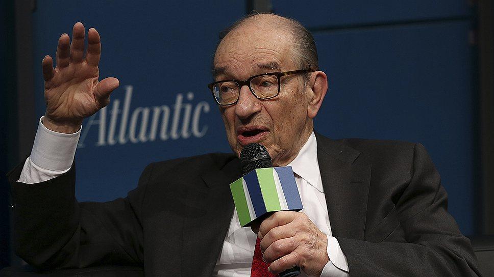 Бывший председатель ФРС США Алан Гринспен