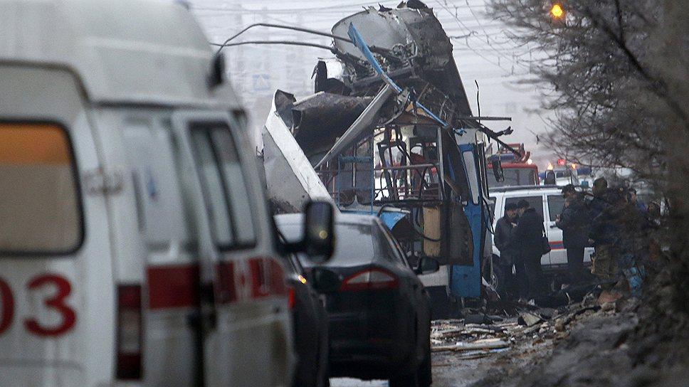 Заместитель главы МЧС Владимир Степанов заявил, что два теракта, произошедшие в Волгограде 29 и 30 декабря, унесли жизни 32 человек