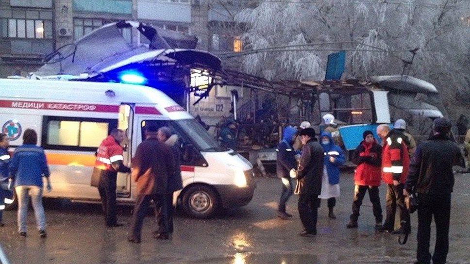 Дело о теракте и о незаконном обороте взрывчатки возбуждено по факту взрыва в волгоградском троллейбусе