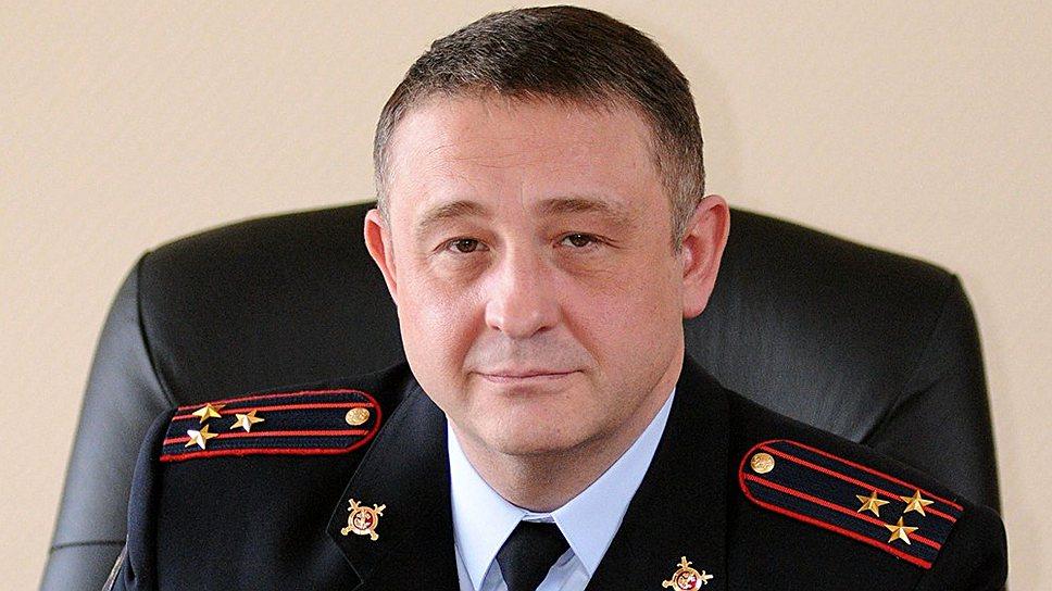 Глава московского уголовного розыска Игорь Зиновьев
