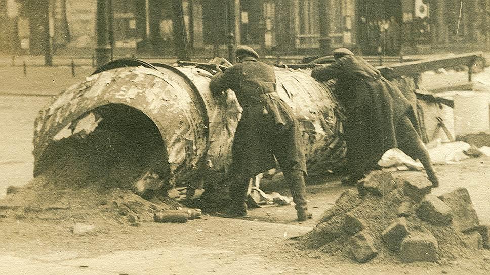 1919 год. В Берлине подавлено Восстание спартакистов (немецких коммунистов, настаивавших на установлении советской республики)