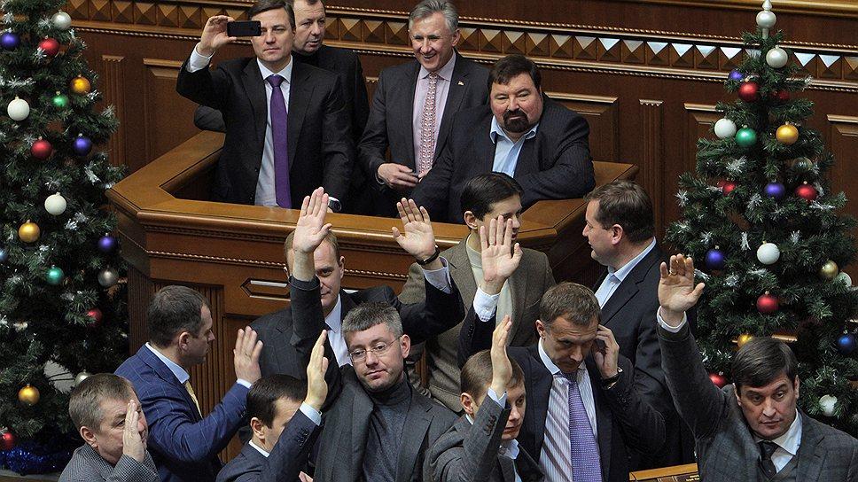 Как Верховная рада Украины приняла бюджет в ручном режиме